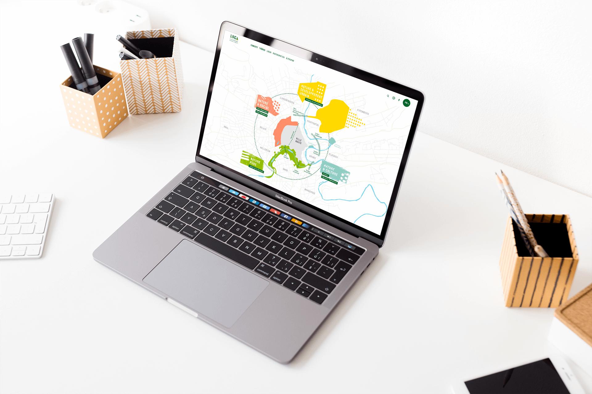 Un site internet aux couleurs franches et dynamiques pour le première exposition horticole du pays