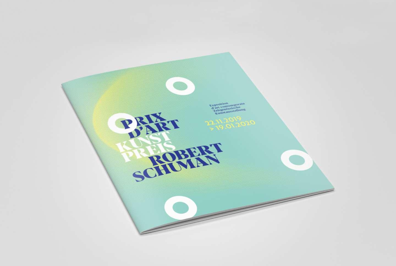 Brochure du Prix d'Art Robert Schuman 2019