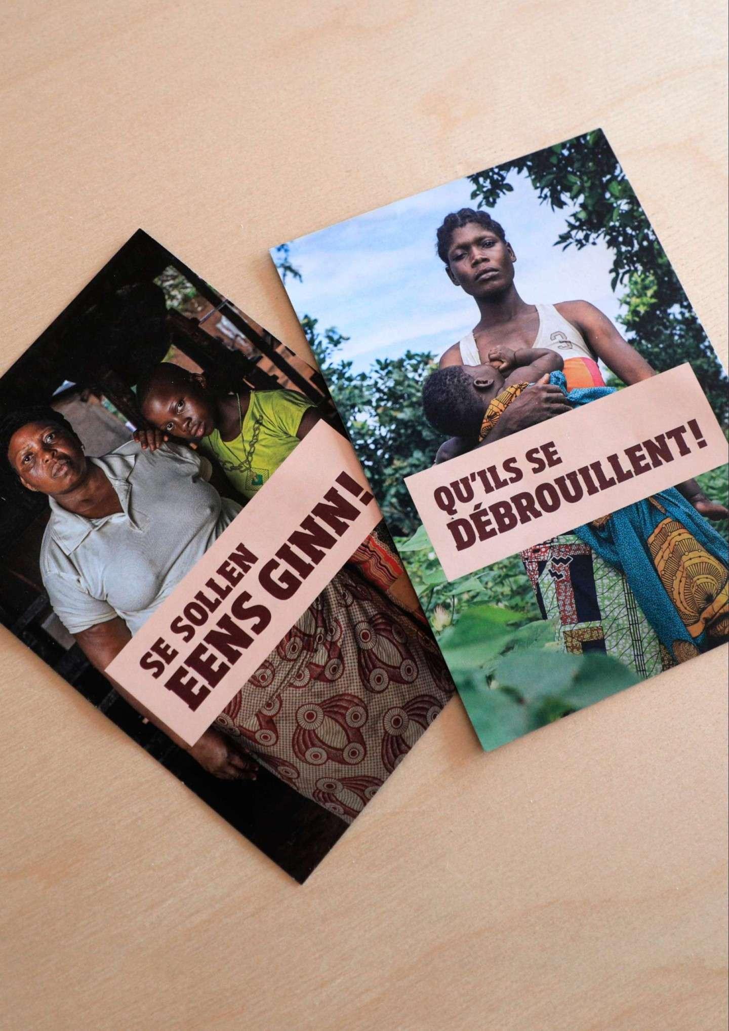 Des visuels forts montrant de vrais bénéficiaires d'SOS Faim au Bénin