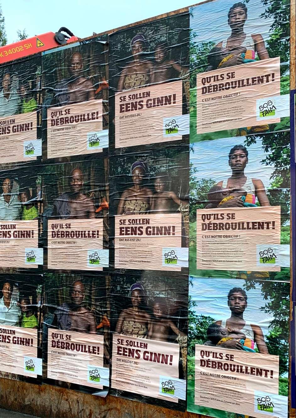 Une campagne forte, percutante et originale réalisée par l'agence de communication Comed au Luxembourg
