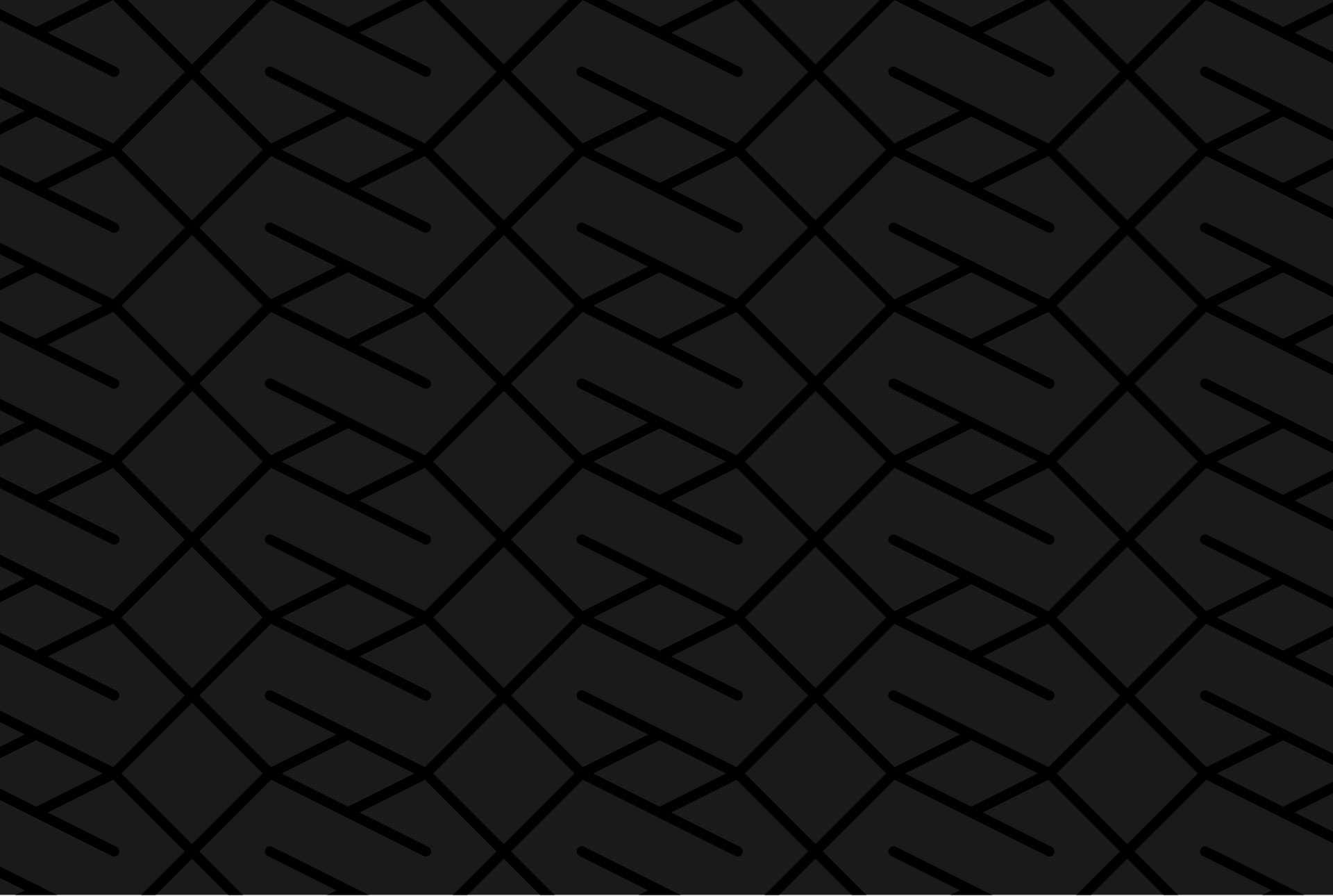 Déclinaison en noir de la trame utilisée dans la charte graphique du projet Infinity