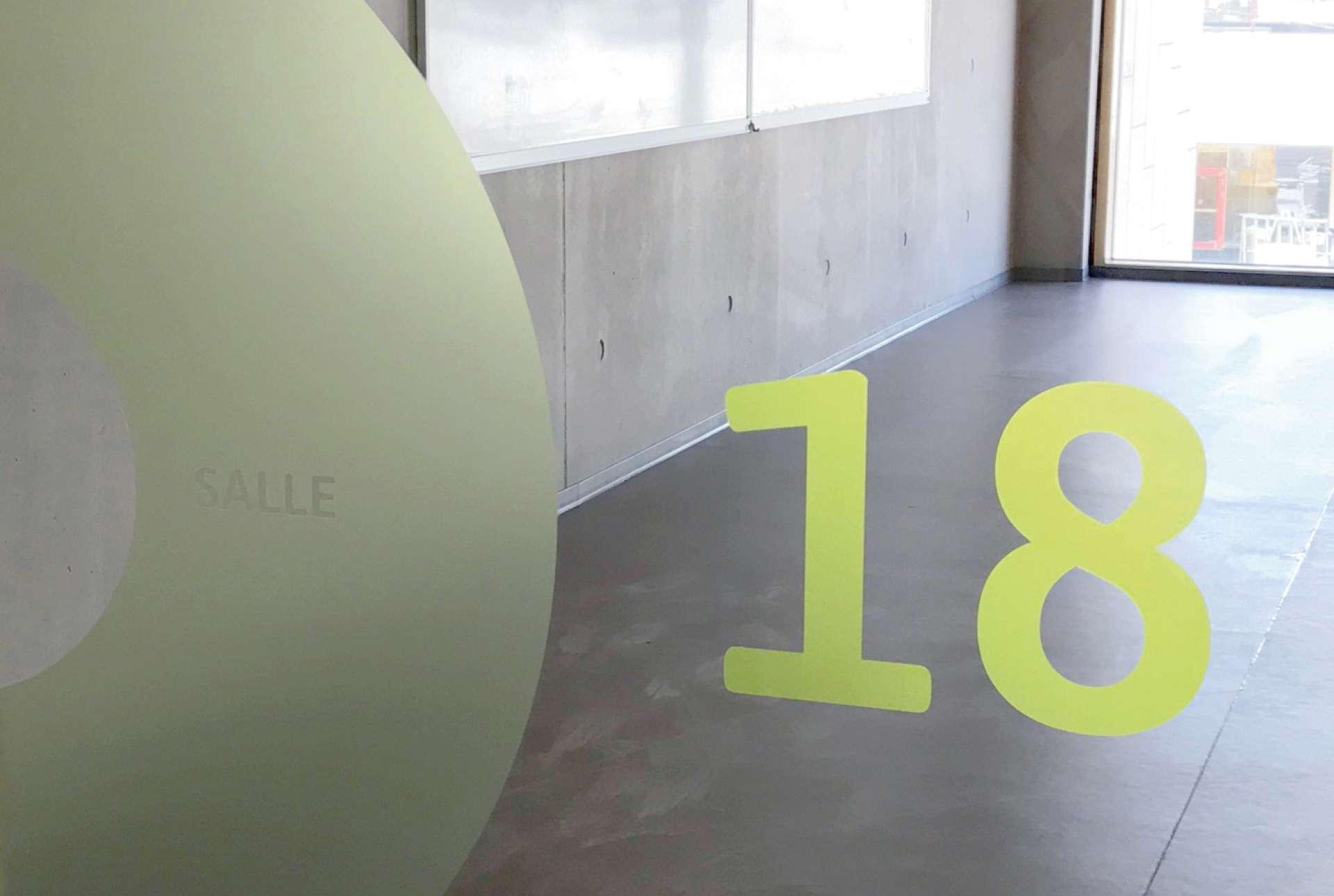 Signalétique intérieure de Vauban, une réalisation de l'agence Comed