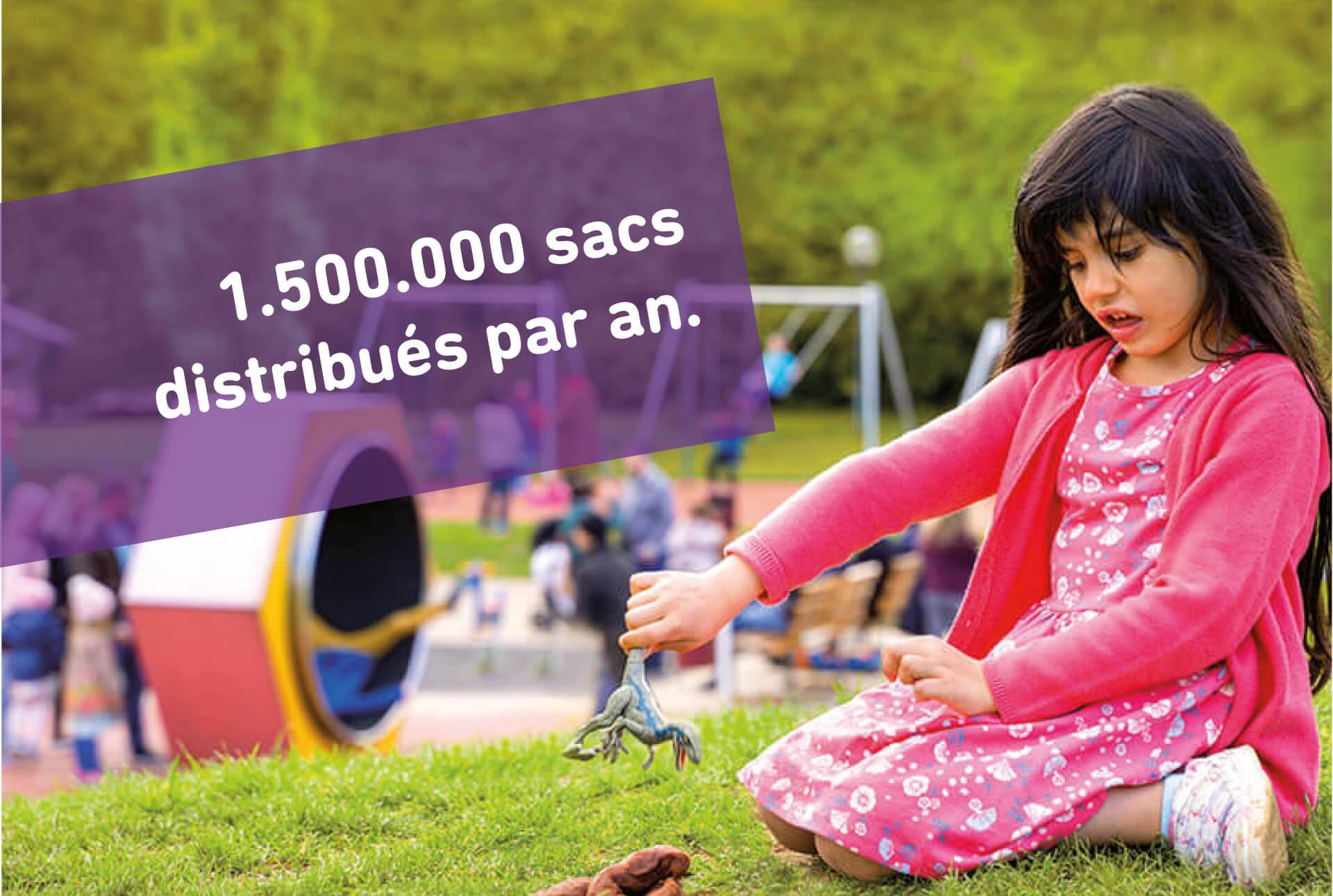 Campagne anti-littering de la Luxembourg-Ville ; la ville distribue des sacs pour les excréments des chiens