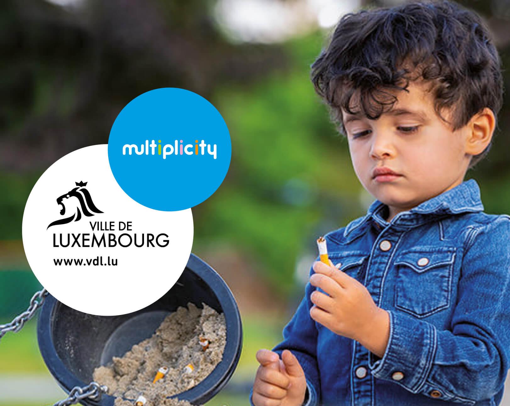 Ville de Luxembourg - Campagne Anti-Littering