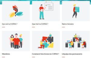 """Page """"A propos"""" du site copas.lu - version facile à lire et à comprendre"""